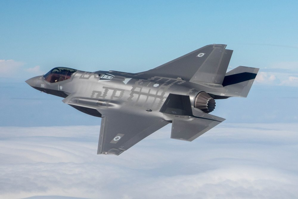 "An Israeli Air Force F-35 ""Adir"" fighter jet. Credit:Major Ofer/Israeli Air Force."