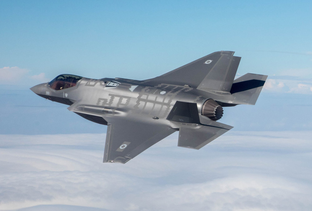 "An Israeli F-35 ""Adir"" jet. Credit: Israeli Air Force/Maj. Ofer."