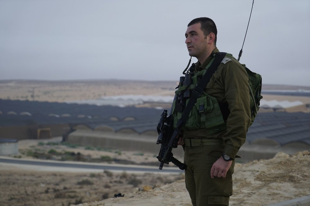 """Maj. Anan Ganm (pictured), a Druze-Israeli deputy commander of the Caracal Battalion, said the IDF understands that the Islamic State terror group """"is getting stronger in the Sinai."""" Credit: IDF Spokesperson's Unit."""