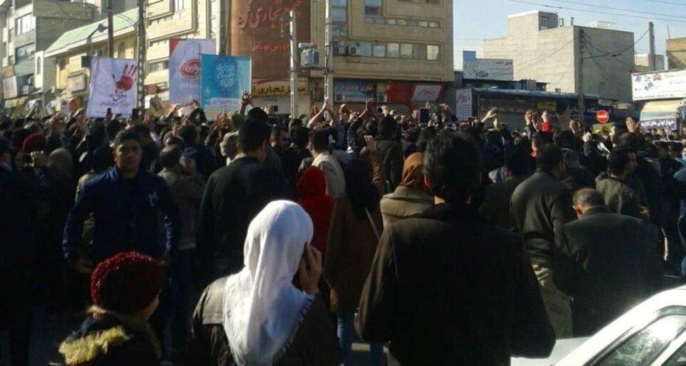 An anti-regime protest in Kermanshah, Iran, on Dec.29, 2017. Credit: VOA News via Wikimedia Commons.