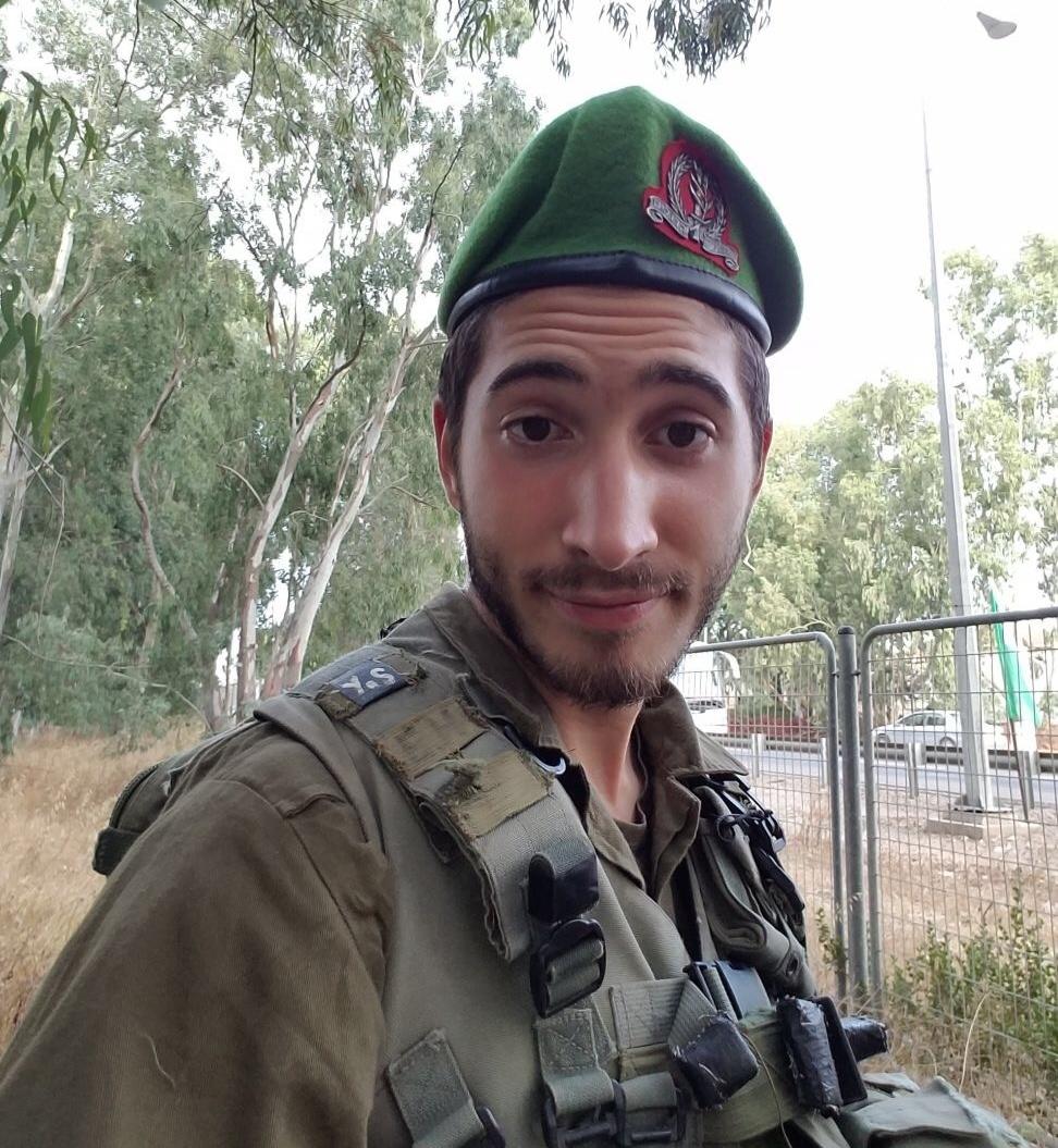 IDF lone soldier Sgt. Yered Stufflebeam. Credit: Courtesy Stufflebeam family.