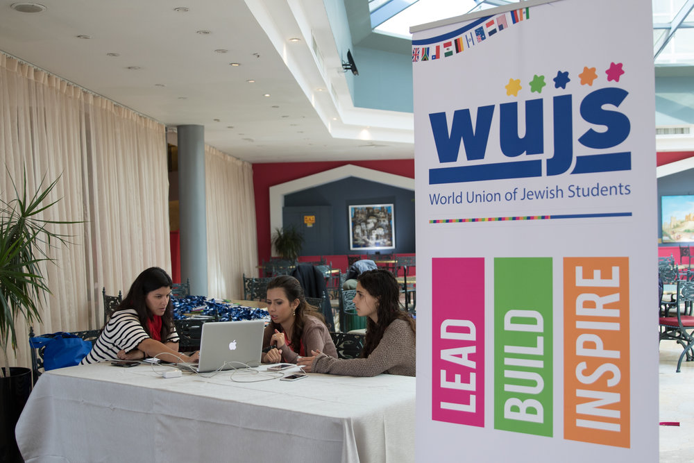 The 44th World Union of Jewish Students (WUJS) congress in Jerusalem. Credit: WUJS.