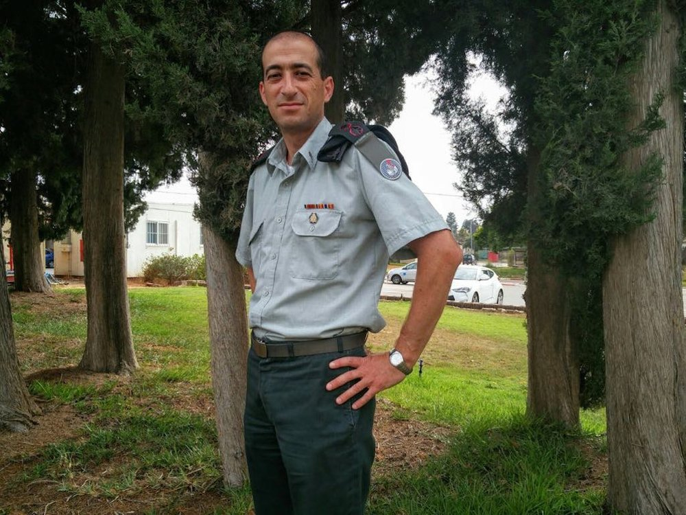 """Lt.-Col. Itai Sagi (picture) said the IDF is """"creating a very significant ecosystem"""" through its forthcoming high-tech campus in Be'er Sheva. Credit: IDF Spokesperson's Unit."""