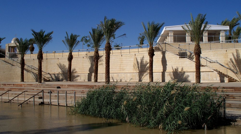 The Qasr Al-Yahud baptism site in the Jordan Valley. Credit: High Contrast via Wikimedia Commons.