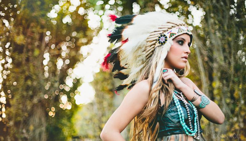 native american inspired shoot