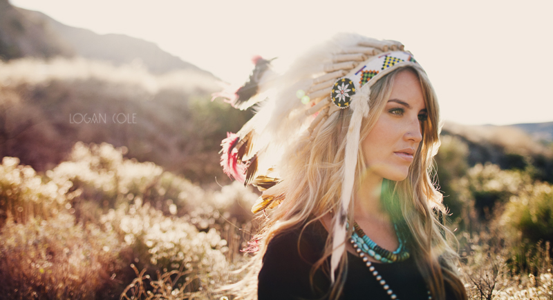 native american inspired shoot