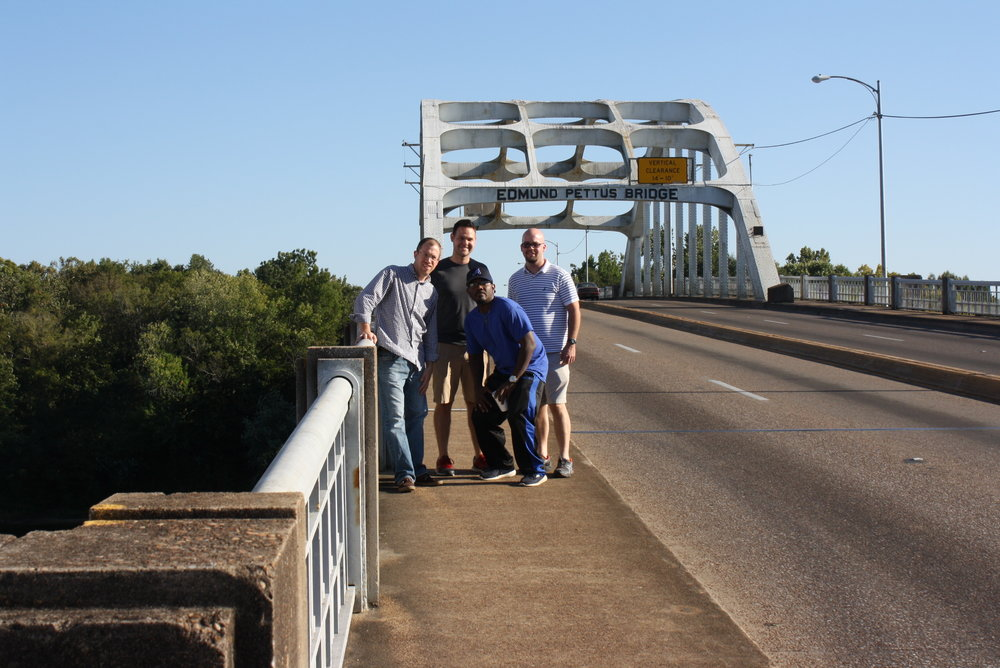 Immersion Cohort II Journey on Edmund Pettis Bridge