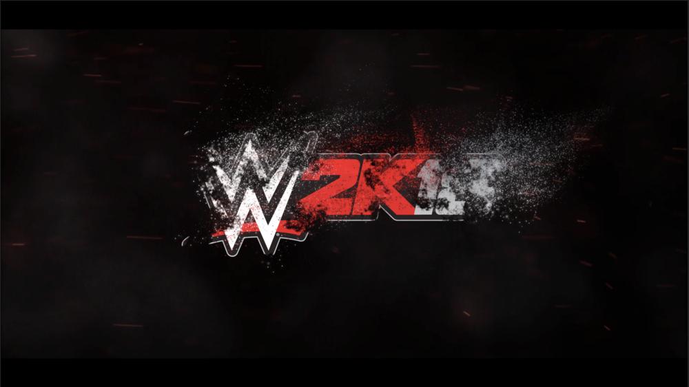 wwe 2k18 logo animation ui ux by jozias dawson