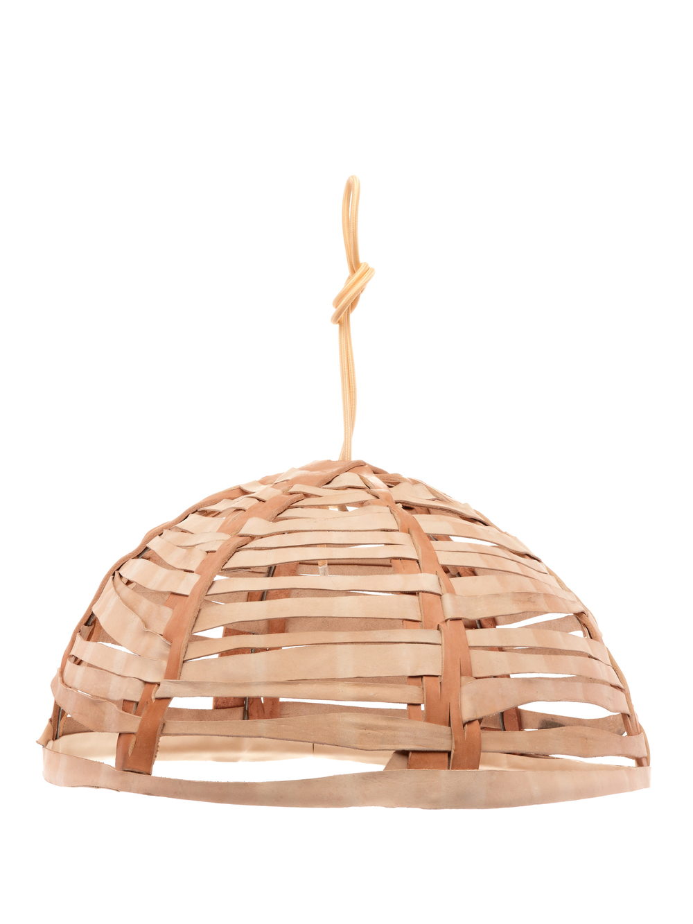 Woven Leather Pendant Light Shade  sc 1 st  All Hands & Woven Leather Pendant Light Shade u2014 ALL HANDS azcodes.com