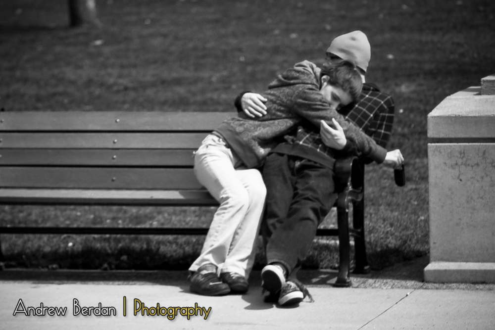 Young Love on a Bench.jpg