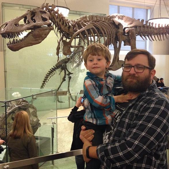 T-Rex and us.