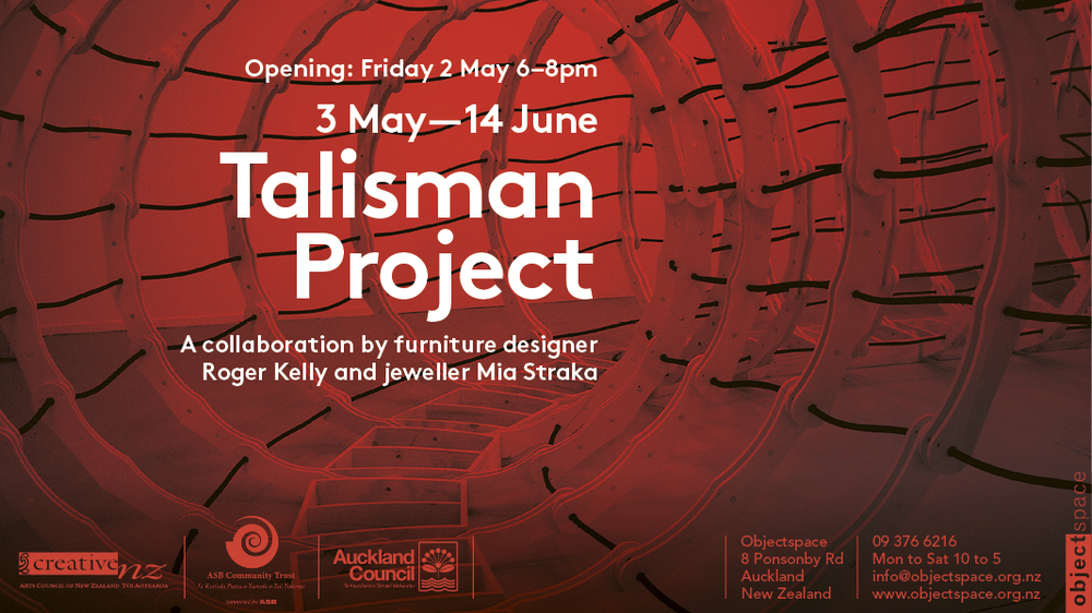 The Talisman Project opening invite