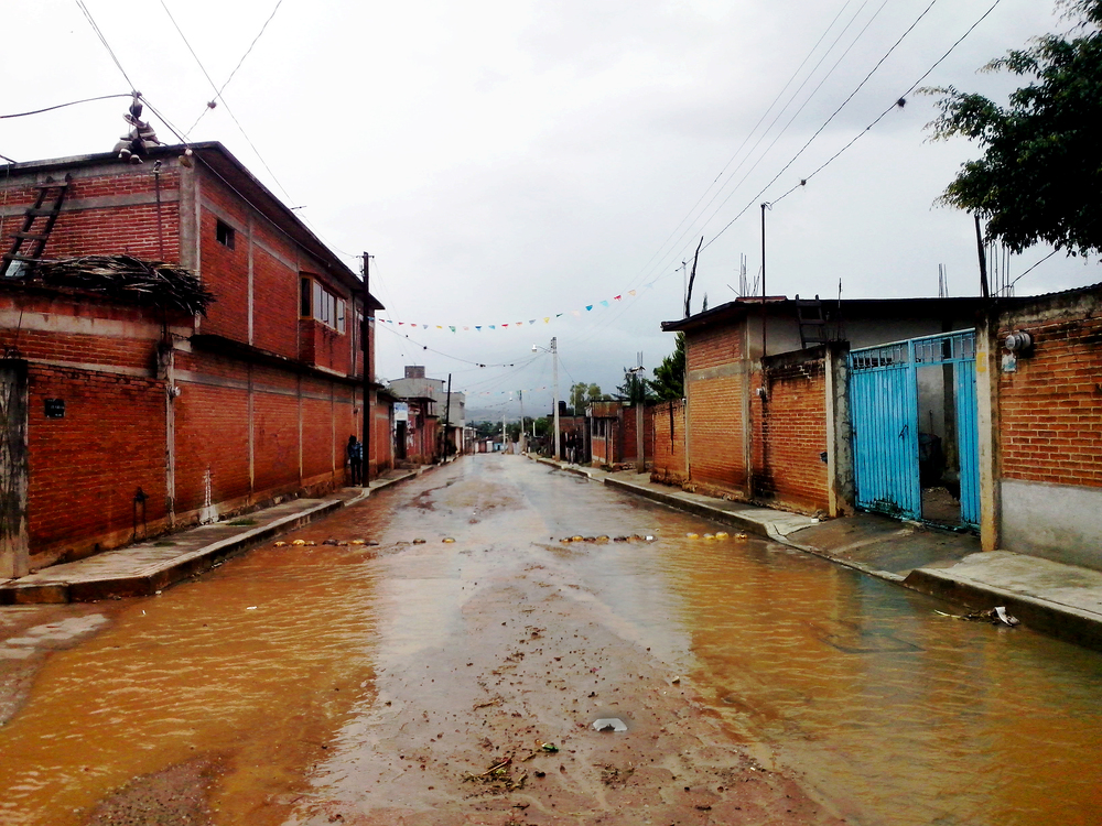Rainy season in San Juan Guelavia, Oaxaca
