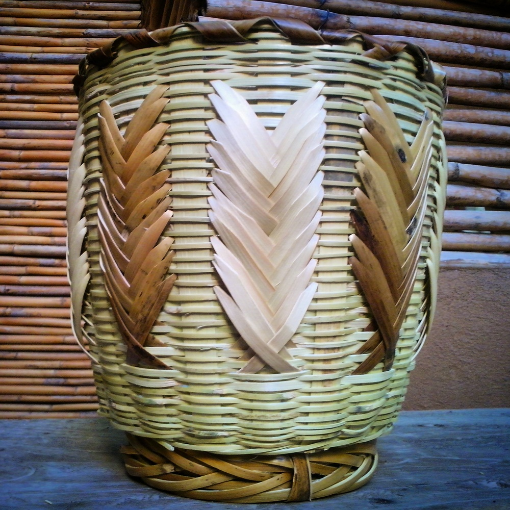 Second straight edge basket completed