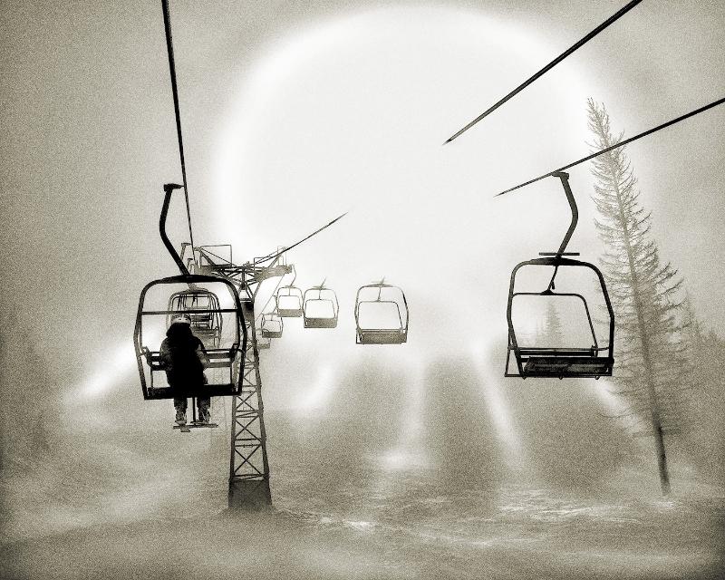 I Ski Alone