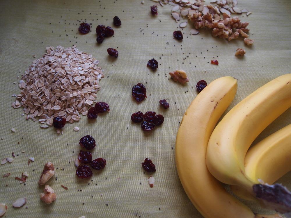 Banana, cherry, almond, walnut, & chia seed granola — LORE