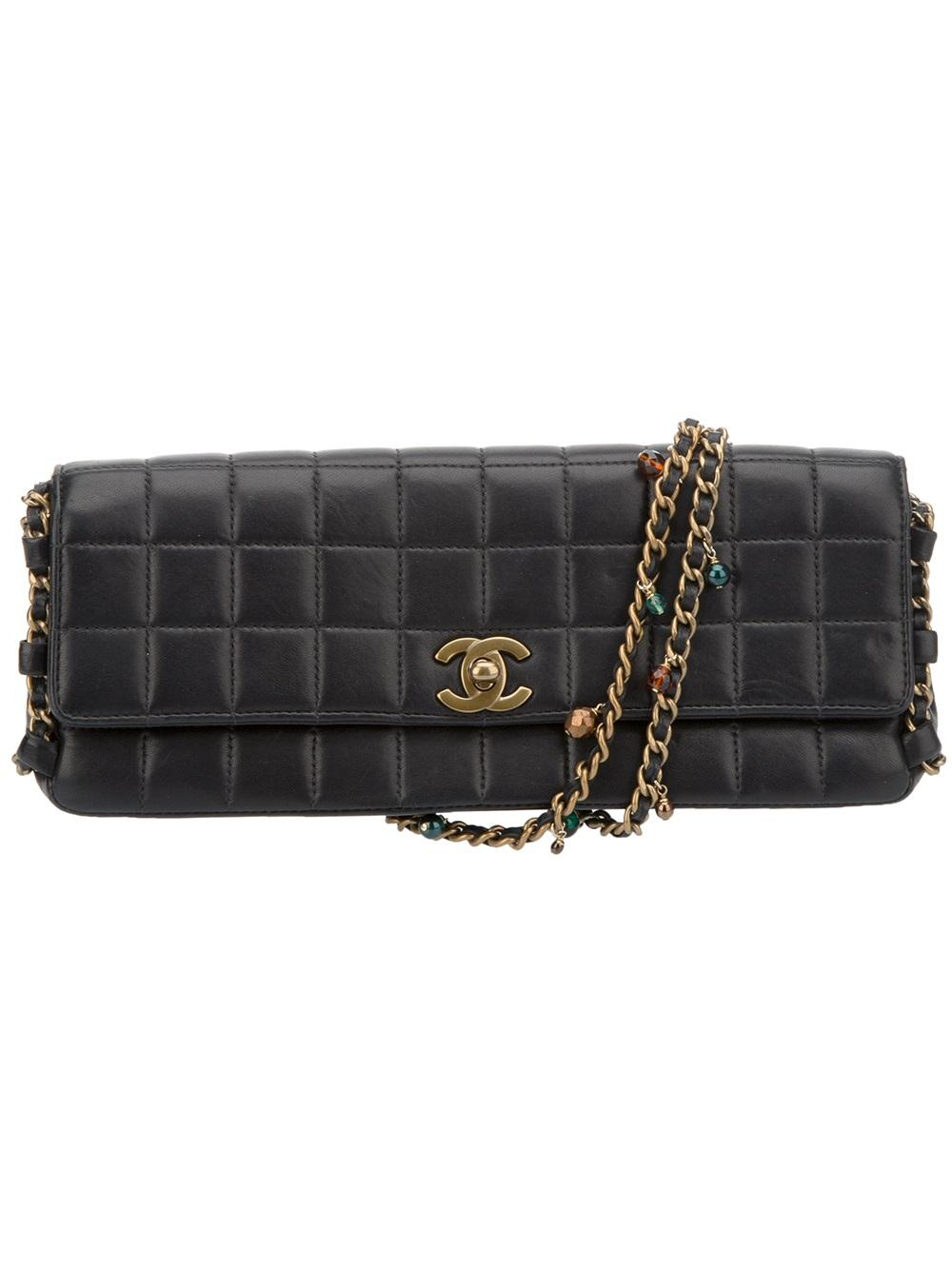 CHANEL VINTAGE limited edition quilted chain bag