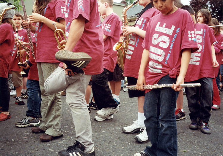 Junior Parade, Portland, 2011