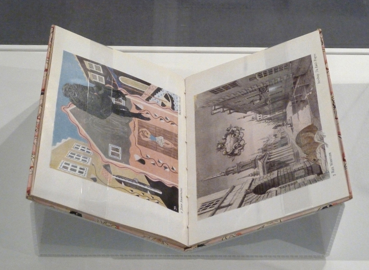 Gracia Haby,  One step ahead , 2011–2012, artists' book exhibited as part of  By This Unwinking Night