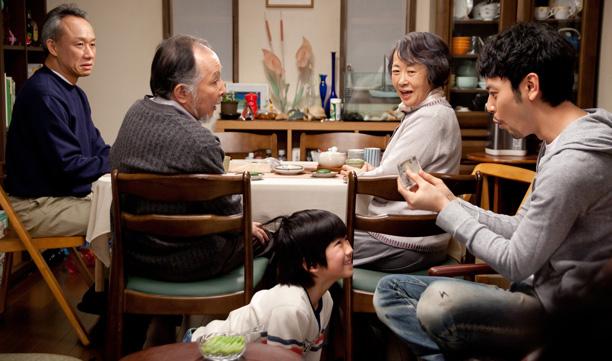 Still from Tokyo Family (Director: Yôji Yamada), MIFF 2013