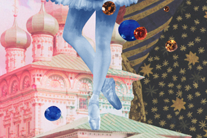 COMMISSION: Collages for The Australian Ballet's Behind Ballet for Ballet Imperial