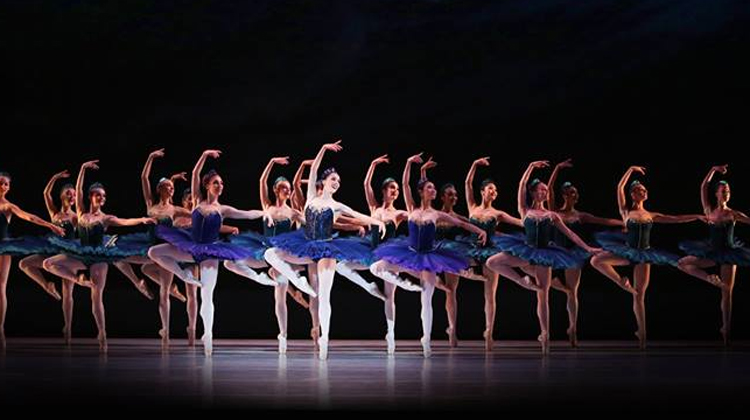 Artists of The Australian Ballet performing Ballet Imperial (Image credit: Jeff Busby)