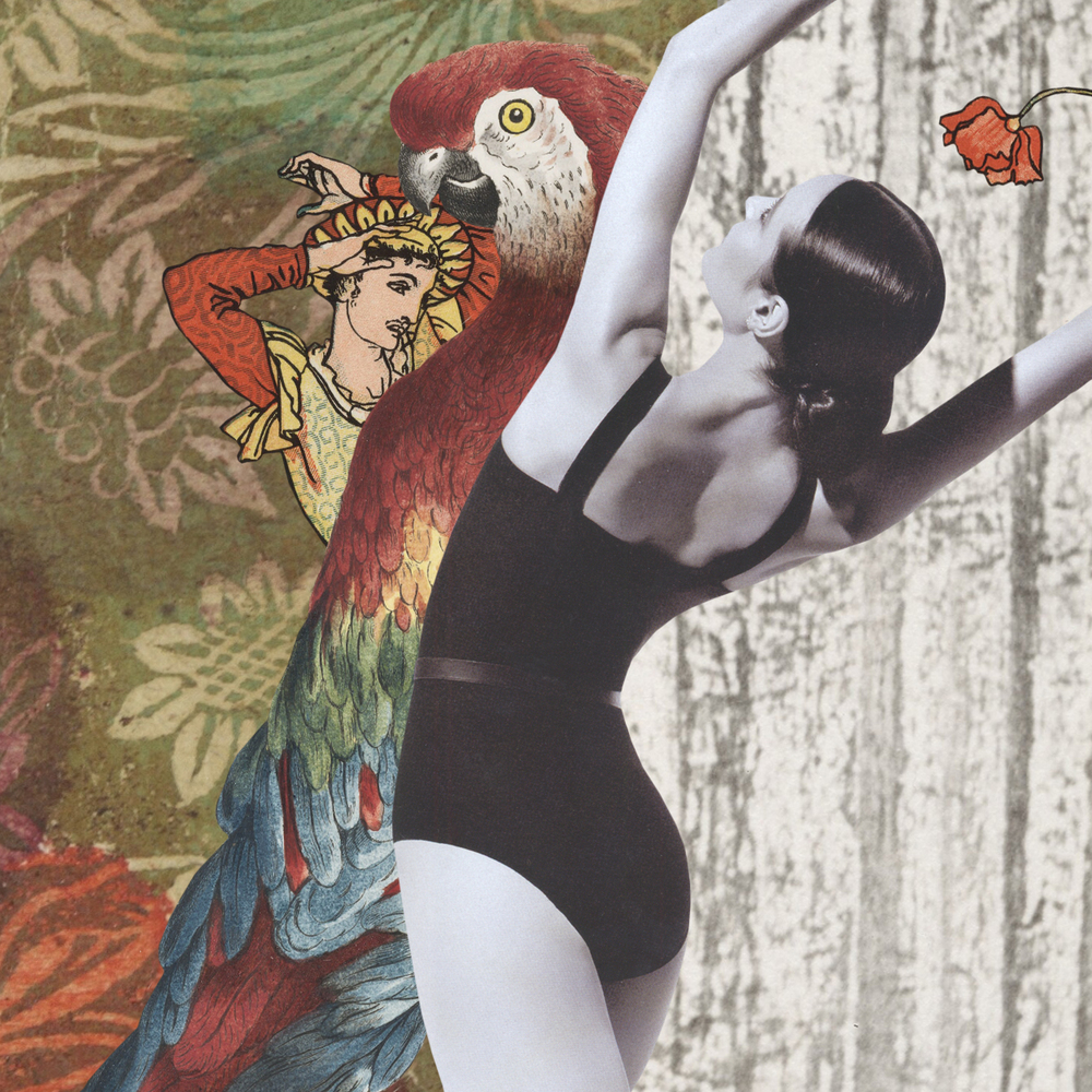 Gracia & Louise, What is Beauty collaborative collage created especially for The Australian Ballet