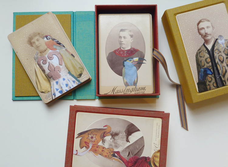 Salvaged Relatives  editions I, II, and III