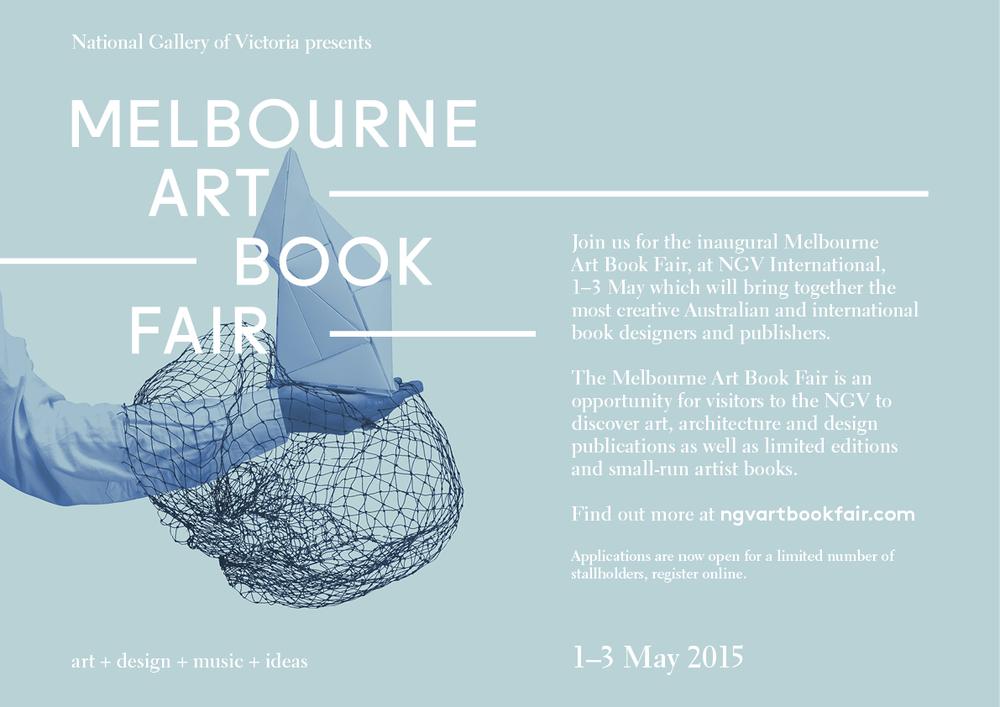 gracialouise)Melbourne ArtBookFair