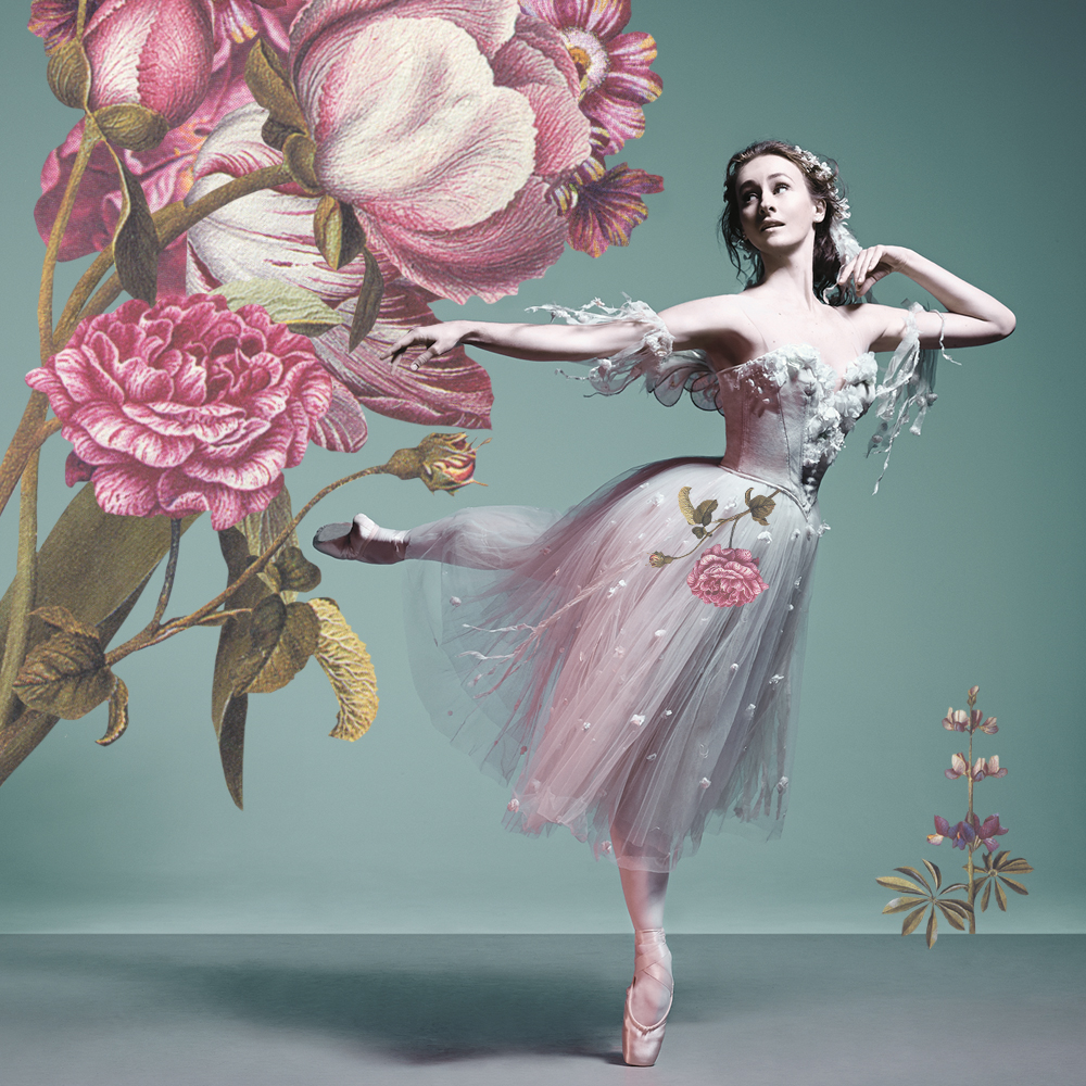By way of thanks and in delicious anticipation of The Australian Ballet's Madeleine Eastoe's second last Melbourne performance,  we have collaged our bouquet  (upon a borrowed promotional photo by Georges Antoni with Madeleine Eastoe and Chengwu Guo for  The Dream )