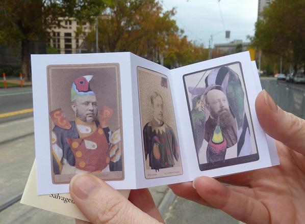 NEW ZINE: Gentlemen from a deck of Salvaged Relatives