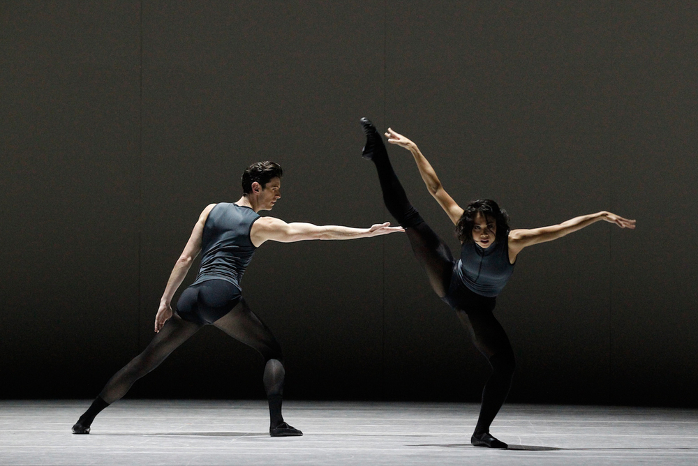 The Australian Ballet's Andrew Killian and Vivienne Wong in  Filigree and Shadow  (Image credit: Jeff Busby)