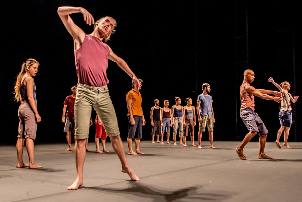Decadance  performed by Batsheva Dance Company (Image credit: David Harris)