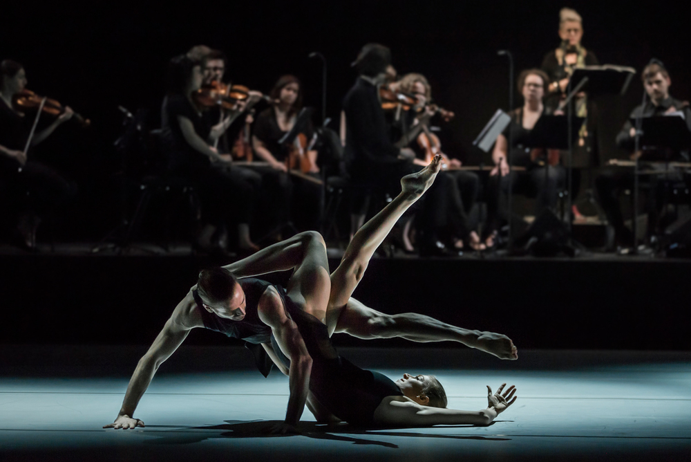 Juliette Barton and Richard Cilli in Les Illuminations (Image credit: Peter Greig)