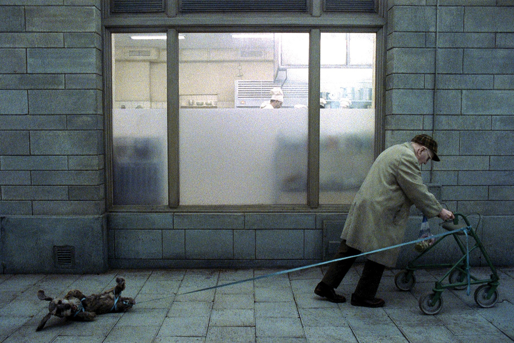 Still from Roy Andersson's film, You, the Living (2007)