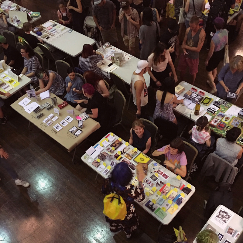 Sticky Institute's annual Festival of the Photocopier zine fair.