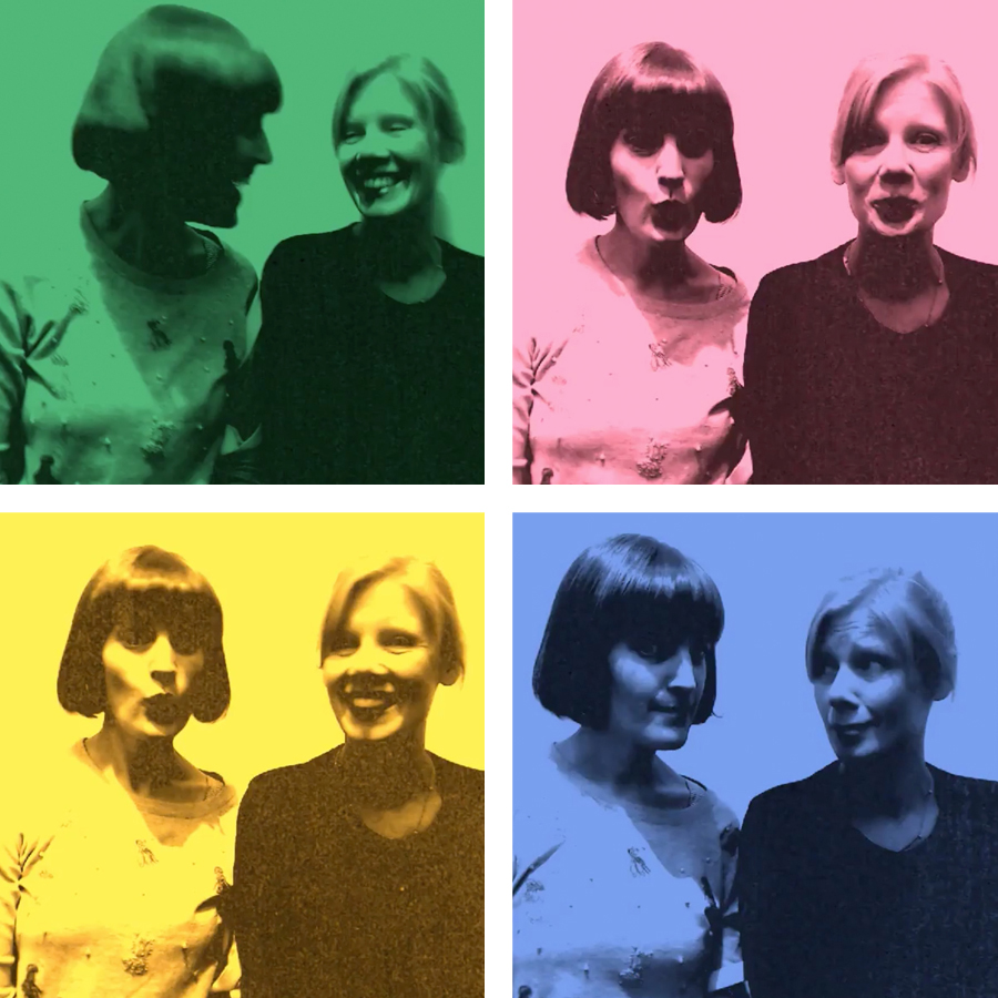Andy Warhol's Photobooth harlequinade  at  @ngvmelbourne  in 15 seconds