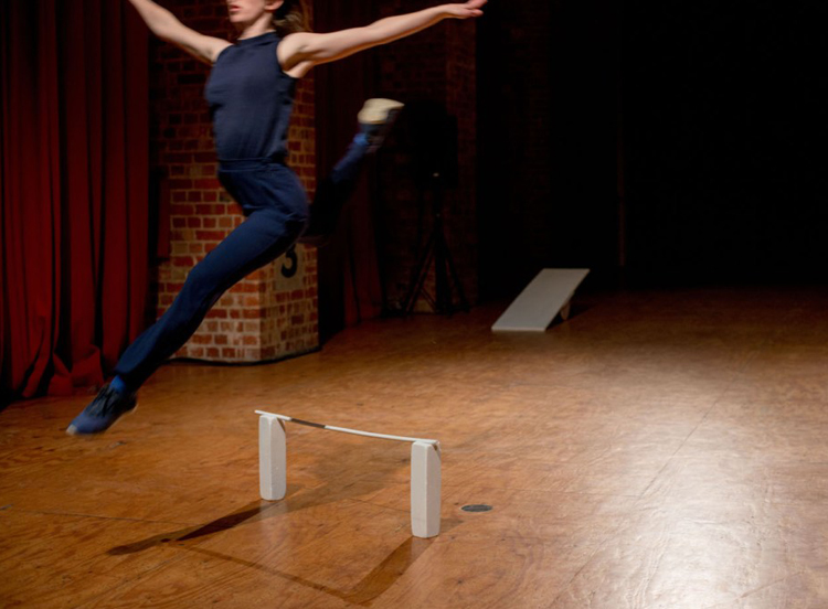 Alice Dixon in 'The Bush Capital,' one of three solos within  Blowin' Up  (Image credit: Mischa Baka)