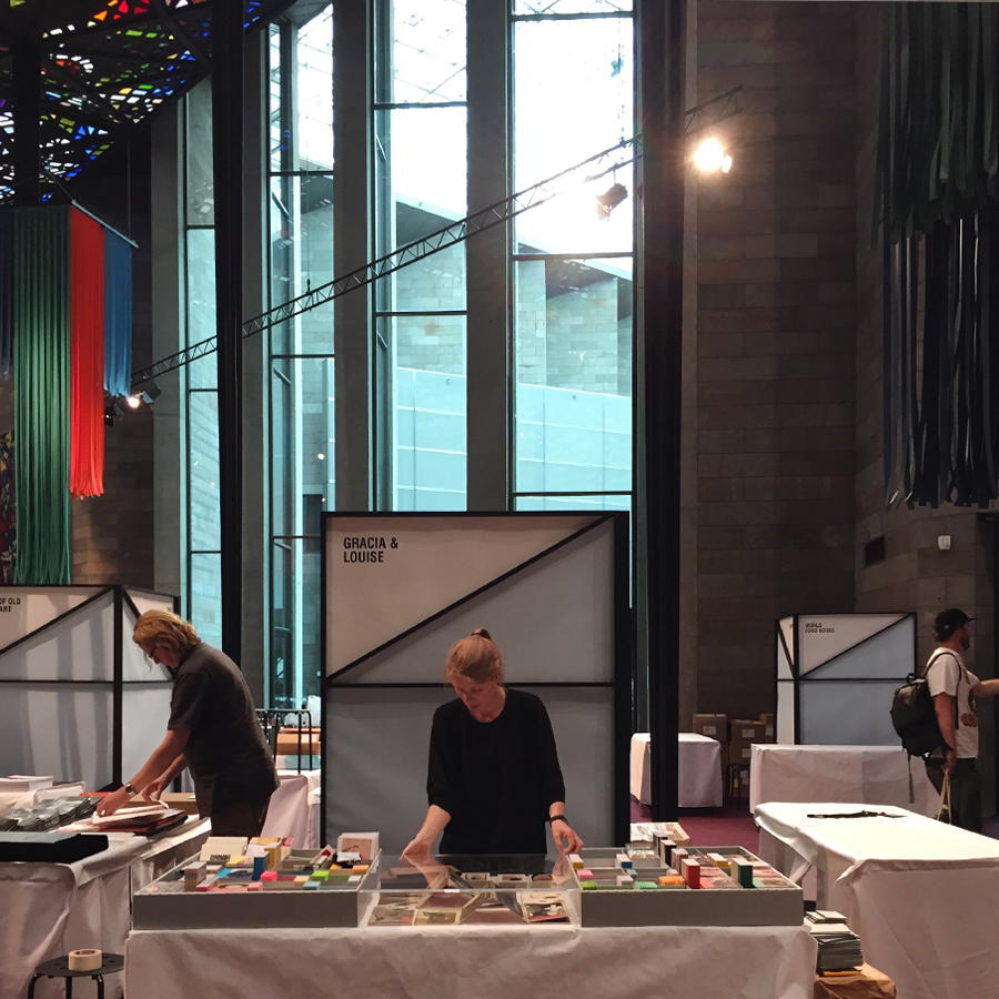 NGV Melbourne Art Book Fair is  (almost) go