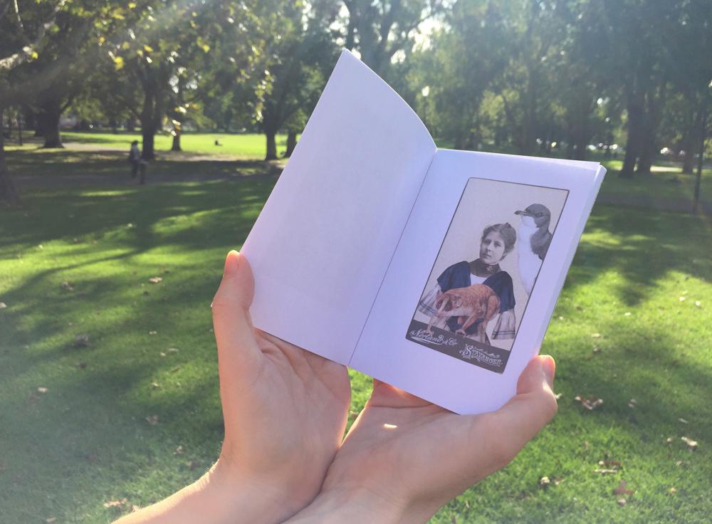 Gracia Haby,   Limbed  , 2017, printed zine