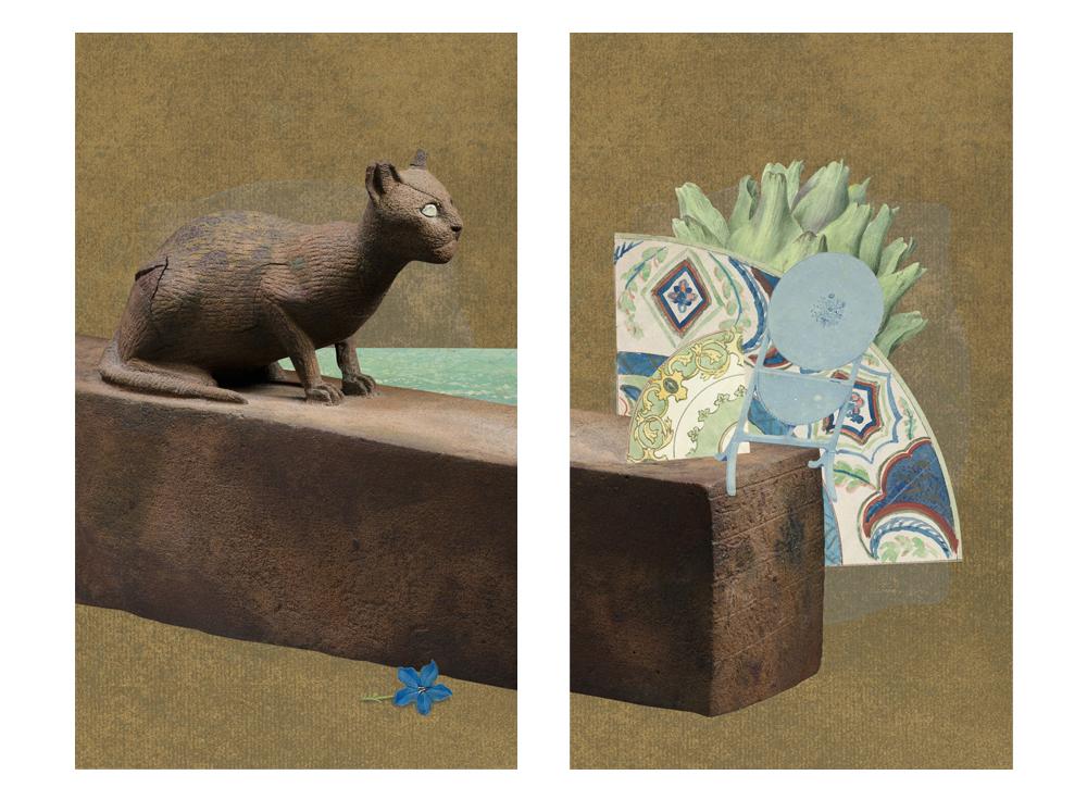 Gracia Haby & Louise Jennison,  No longer six feet under , 2017, artists' book