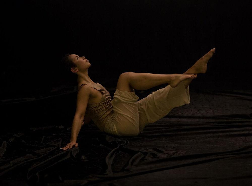 Lilian Steiner in Melanie Lane's  Nightdance  (image credit: Bryony Jackson)