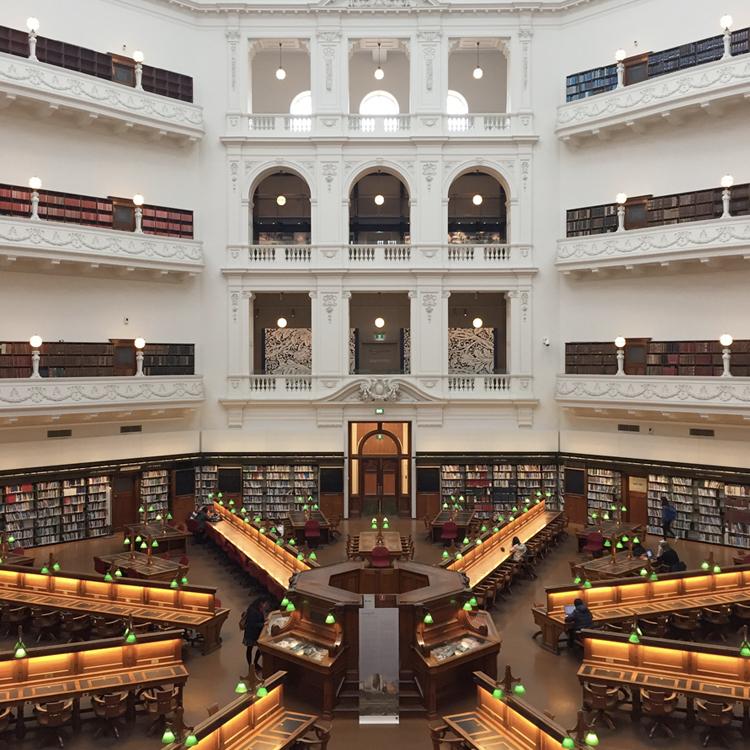 EXHIBITION:  Looped , La Trobe Reading Room, State Library Victoria