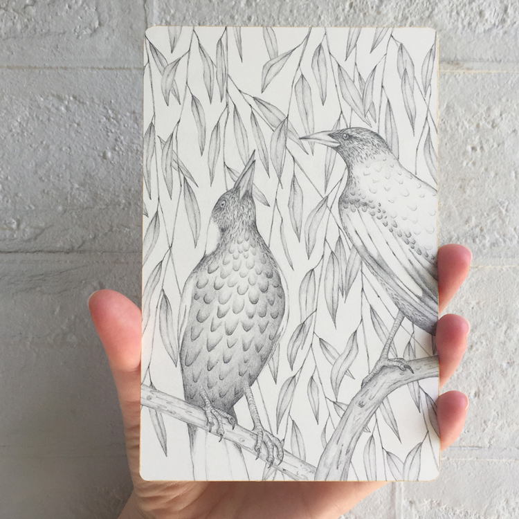 RECENT: Prattle, scoop, trembling: a flutter of Australian birds, unique state artists' book