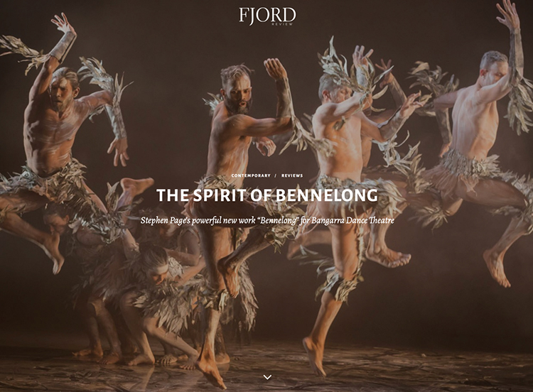 RECENT READS on dance, especially for Fjord Review