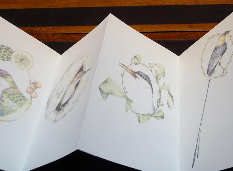 A Flight of Twelve Southern Hemisphere Birds , 2013