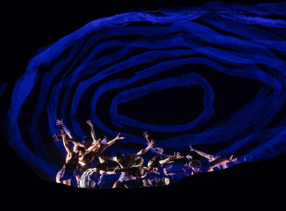Bangarra Dance Theatre's  Dark Emu , 2018 (image credit: Daniel Boud)