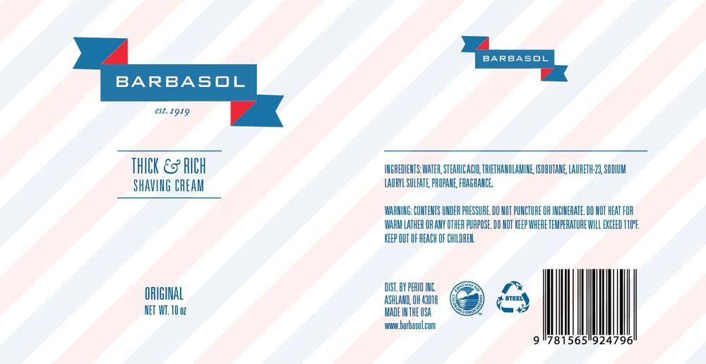 Barbasol Packaging Dielines