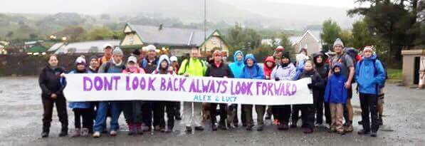 Picture from the last fundraising event - Mount Snowden sponsorship walk - North Wales