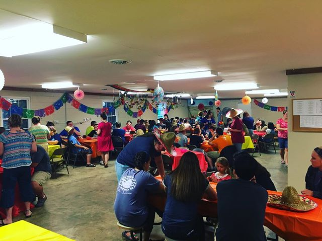 It's fiesta night at Teen Week!!! #HRBC2k17